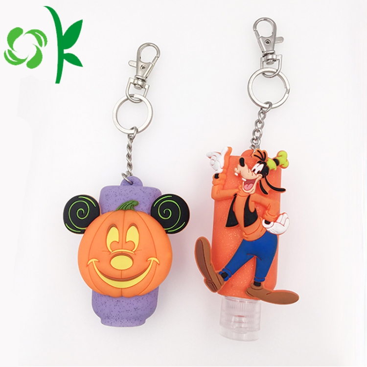 Halloween Series Silicon Hand Sanitizer Cover