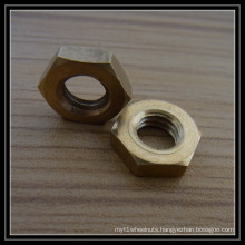 Hex Brass Nut
