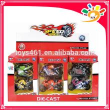 Diecast motorcycle moto car model 12pcs/display box