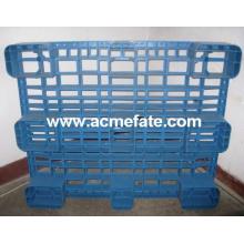 Embalagem de alta qualidade e transporte / transporte de paletes de plástico