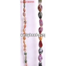 Granos de piedra semipreciosa ágata de la India