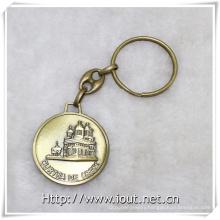 Custom Keychain Metal Buliding Key Ring Manufacturer Key Chain, Key Holder (IO-ck100)