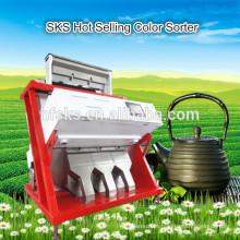 Multi-funcional Color & Shape-Based Sorting Máquina de separação de cor do chá