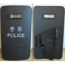 Großer Schutzbereich Polizeischutzschild
