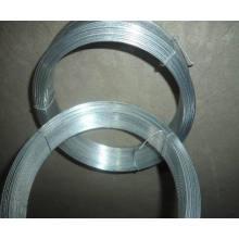 Fil de cravate de grille / fil de bobine galvanisé