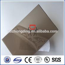 Feuille en relief estampée en PVC / pc / feuille de diamant PC / feuille de diamant