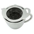 Стрейнер чая нержавеющей стали с s/s блюдо