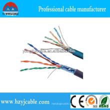 100 pares Cat5e Cable UTP LAN Cable de fábrica Precio CAT6 Cable de cobre completo LAN