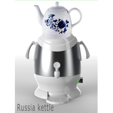 Bouilloire d'eau en acier inoxydable Samovar Sb-Es01
