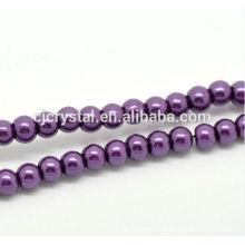 Bijoux en perles en verre de haute qualité en vrac