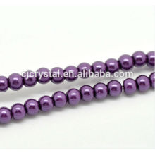 High quality glass pearl jewelry in bulk