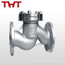 techno flanged type instrument gas ball piston lift check valve