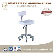 Tragbarer Salonhocker der Schönheit Kundengebundener Schemel-Stuhl-Sattel-Schemel mit Rückenlehne