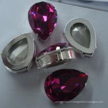 Crystal Point Accessoires de vêtement arrière / Perles