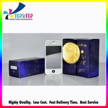 Papel de OEM de alta calidad que empaqueta la caja ULTRAVIOLETA de la impresión de la capa