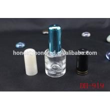 2014 novo estilo cilindro de vidro garrafa parafuso Cap