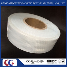 High Light White Adhesive Micro Prism Truck Reflective Material Tape