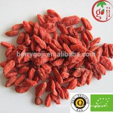Bayas orgánicas del goji del certificado caliente de la venta