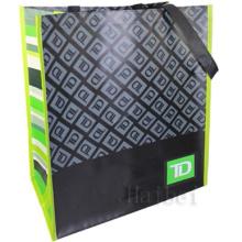 Custom Non-Woven 100% RPET Reusable Bag (hbnb-538)