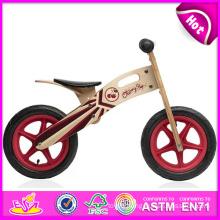 2014 New and Popular Wooden Kid Bike Toys Wooden Toys, Latest Modern Wooden Kid Bike, Hot Sale Balance Wooden Kid Bike W16c083