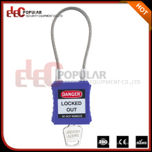 Cadenas à câble en acier inoxydable à haute sécurité avec clé maître