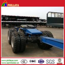 Hydraulic Heavy Loading Dolly in Lowbed Trailer / Semi Trailer