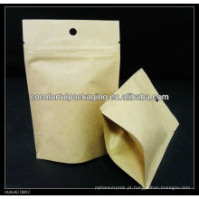 Saco de café de papel kraft com válvula / com duas vias de embalagem de café sacos de embalagem válvula