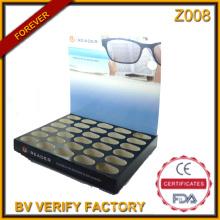 Z008 Benutzerdefinierte Papier lesen Gläser Rack Ständer