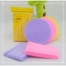 Facial de venda quente 2015 comprimido esponja de celulose atacado