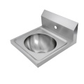 Oval Wall Mount Hand Sink with Backsplash