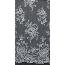 Tissu en dentelle pour robes de mariée et robes et broderie en perles broderies en dentelle nuptiale Home Fashion No.CA178B