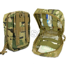 Military Tactical First Aid Pouch with Molle ISO Standard