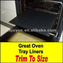 Tapete de forno reutilizável antiaderente de fibra de vidro