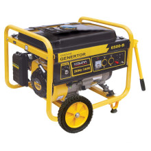 CE Approve Power Low Noise Gasoline Generator (5kw 5.5kw)