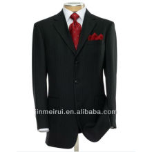 Alibaba Made in China Executive 2-Knopf Wolle Anzug mit Center Vent und Plain Front Hose Formal Herren Anzug MS001
