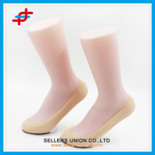 Ladies' nylon material silk sock with skin color custom socks