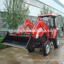 farm machine 4 in 1 combined bucket loader for tractor