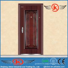 JK-S9005 conception de porte intérieure en acier sécurisé / sécurité en acier