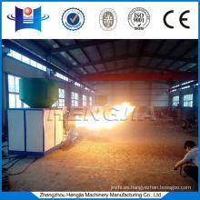 Quemador de biomasa directo encendido utilizado en hornos industriales para calentamiento y secado