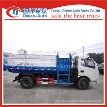 Precio barato y muy bueno usado de carga automática camión de basura