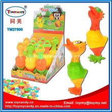 Plastik Ostern Chick Duck Toy mit Süßigkeiten