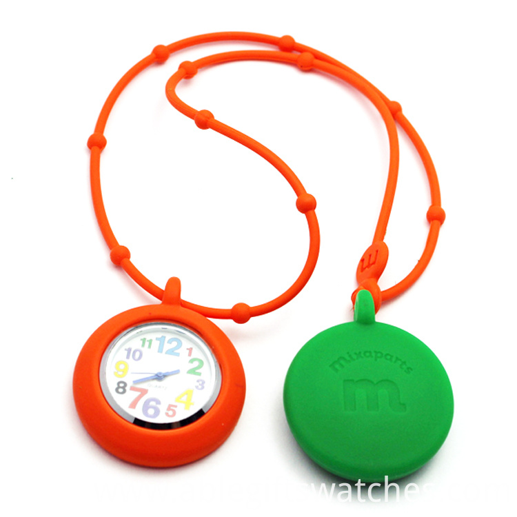 silicone chain watch