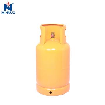 Cylindre d'acier au gaz de LPG de 12.5KG, réservoir de gaz