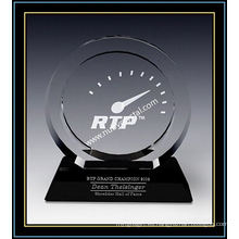 """Placas de Crystal Award / Circle Award 7.4 """"H (NU-CW731)"""