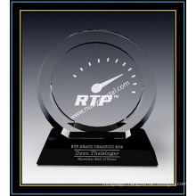 "Crystal Award Plaques/Circle Award 7.4"" H (NU-CW731)"
