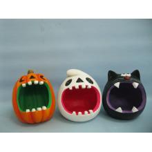 Хэллоуин Тыква Керамические изделия и ремесла (LOE2373-13)