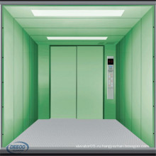 Большое Пространство Крытого Грузового Товарами Склад Грузовой Лифт