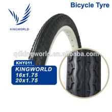 Sem emenda 16 * 1.75 pneu de bicicleta de estrada