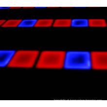 Dance Floor estrelado colorido do diodo emissor de luz do RGB do programa do banquete de casamento