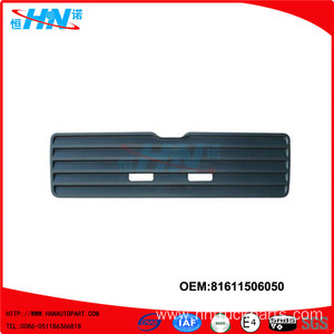 ABS Grille 81611506050 Man TGA Truck Body Parts